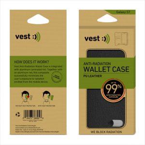 wallet galaxy S7 Black