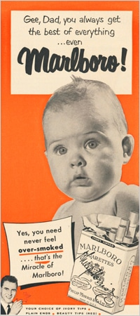 marlboro baby advertisement